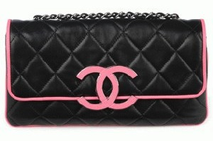 CHANEL bag black replica 301s discount